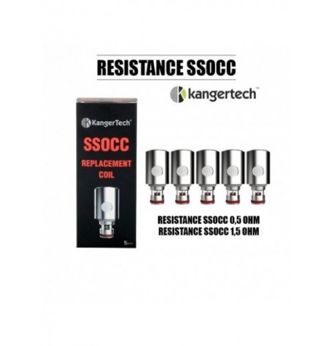 Résistances SSOCC - Kangertech