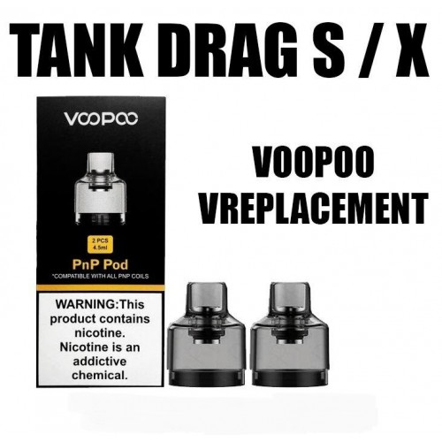 Pods - Drag X/S 4.5ml - (pack de 2)