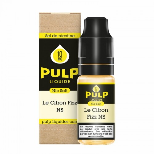 Le Citron Fizz - 10 ml - FR - PULP NIC SALT
