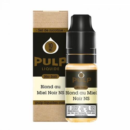 Blond au Miel Noir -10 ml - FR - PULP NIC SALT