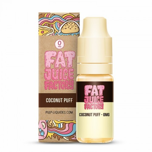Coconut Puff - 10 ml - FRC - Fat Juice Factory by Pulp